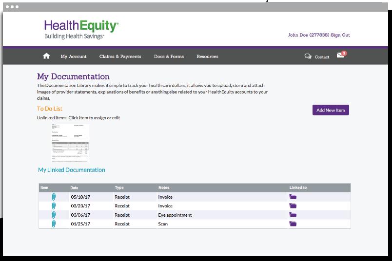 Online member portal | HSA member guide | HealthEquity
