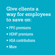 Give clients a way for employees to save